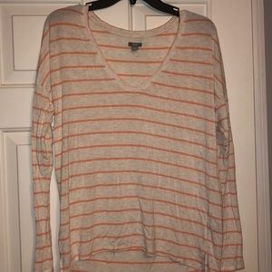 Aerie Long Sleeve V-neck, XS